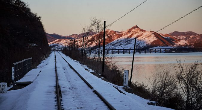 "Talks ""underway"" to secure sanctions exemption for inter-Korean rail survey: MOU"