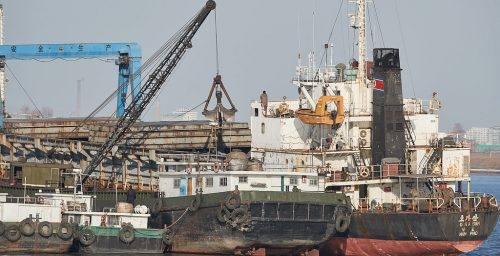 North Korea vessels illegally exported coal and imported 'humanitarian aid'