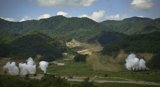 "ROK-U.S. marine drills ""run counter"" to September military agreement: Rodong"