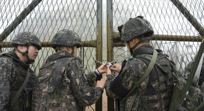 Two Koreas to verify trial DMZ guard post removal on December 12: MND