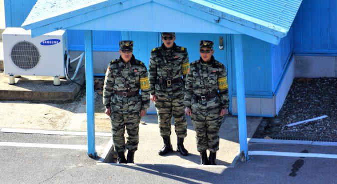 North Korean soldiers at Joint Security Area sporting new uniforms, photos reveal