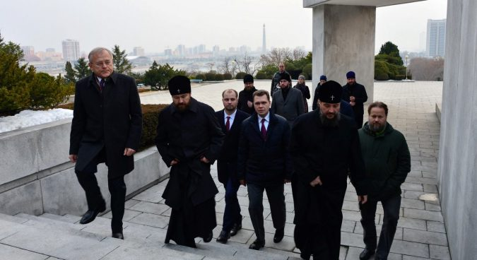 Why Moscow sent a top Orthodox Church official to Pyongyang