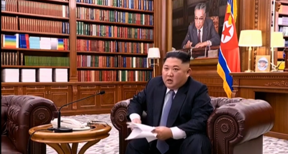 """In New Year's speech, Kim Jong Un says he's ready to meet Trump """"at any time"""""""