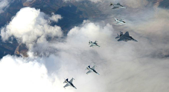 South Korean Air Force begins independent combat exercises