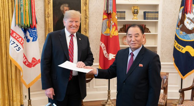 Trump received another letter from Kim Jong Un on Friday: White House