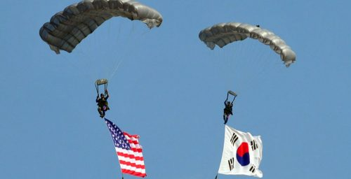 'A giant game of laser tag': US-South Korea military exercises explained