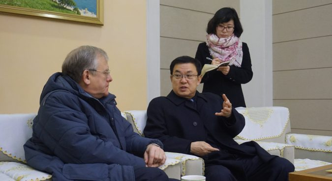 DPRK delegation in Vladivostok for economic cooperation talks: Russian embassy