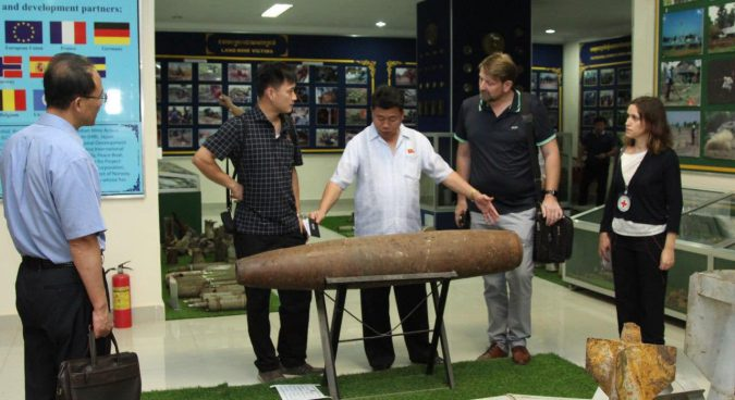North Korean delegation in Cambodia to learn about demining, bomb clearance