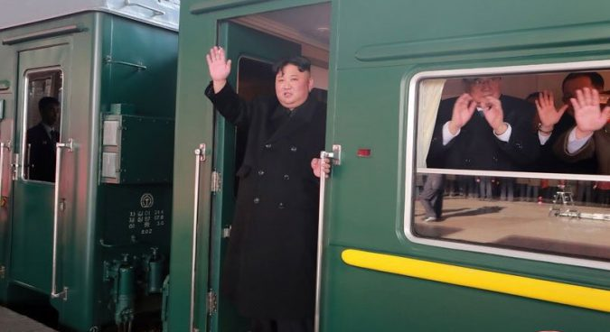 Kim Jong Un en route to Hanoi for second summit with Trump, state media confirms