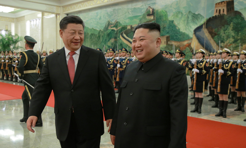 Kim Jong Un's January activities: ringing in the new year with a speech and a summit