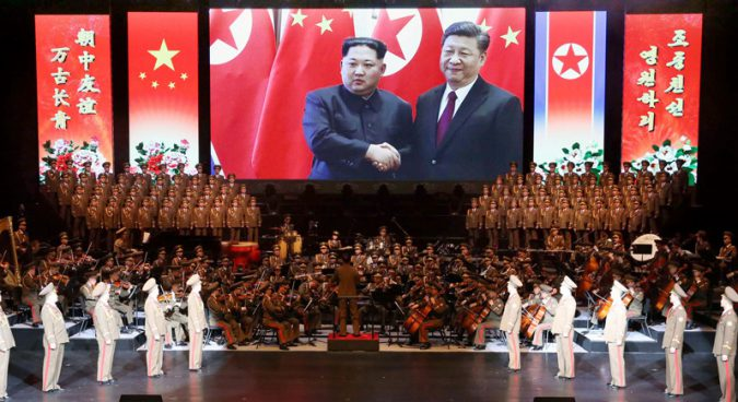 """In rare article for N. Korean party daily, Xi offers """"grand plan"""" for peninsula"""
