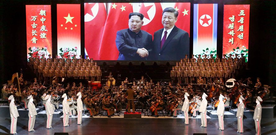 "In rare article for N. Korean party daily, Xi offers ""grand plan"" for peninsula"