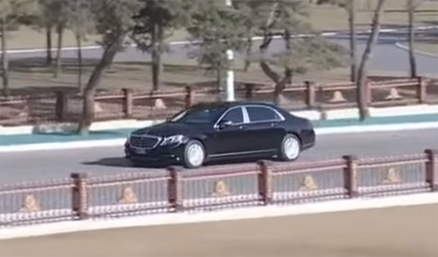 Kim Jong Un seen with new Mercedes-Maybach S 600 in recent appearance