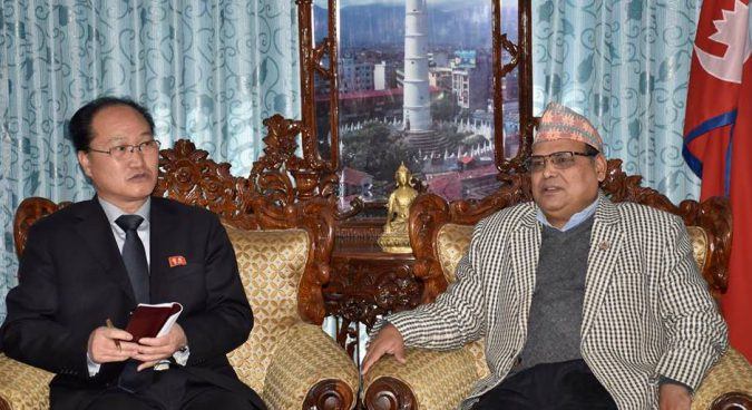 N. Korea wants to invest in Nepal's hydroelectric, agriculture sectors: speaker