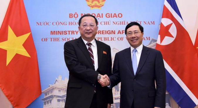 Vietnamese foreign minister to visit North Korea this week: MFA