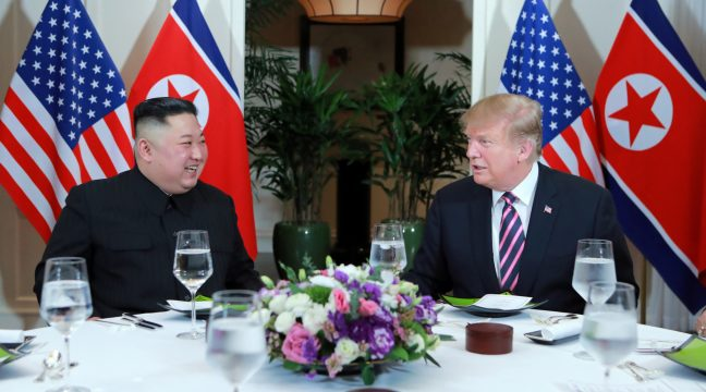 Peace in Korea? So last year