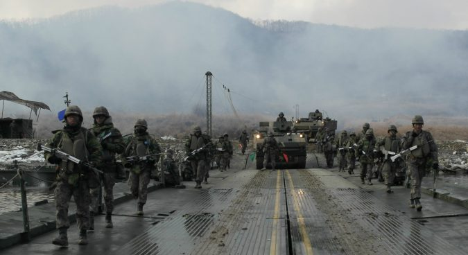 South Korean military to review plans for post-unification redeployment: MND