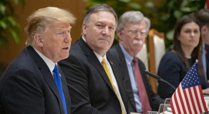 "Bolton's ""Libyan model"" comments on North Korea were a setback: Trump"