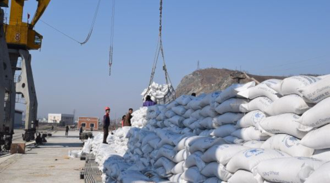 South Korea's Gyeonggi province sends $1.3 million in flour, saplings to North