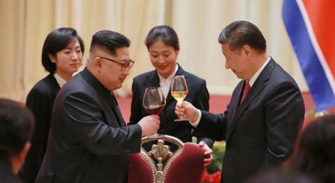 Xi Jinping arrives in Pyongyang for landmark fifth summit with Kim Jong Un