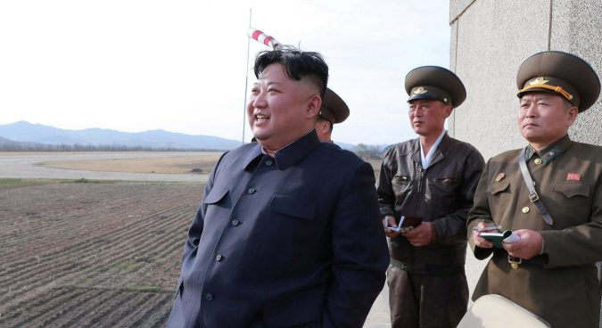 "Kim Jong Un oversaw test of new ""tactical guided weapon"" on Wednesday: KCNA"