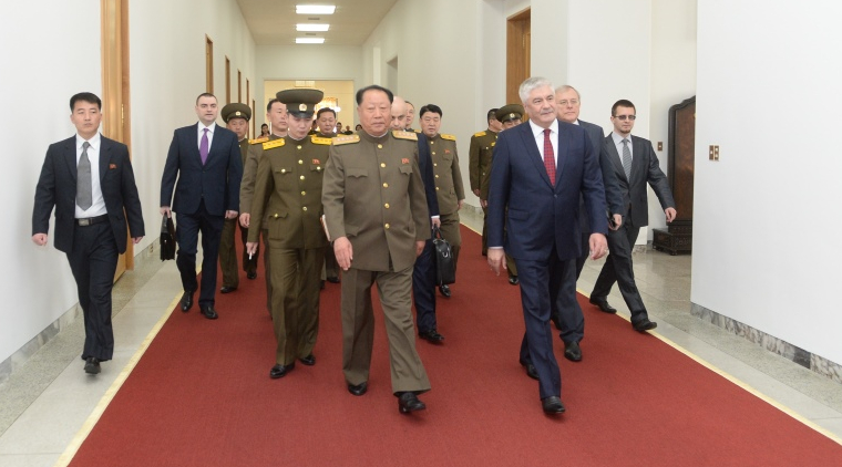 Russia may help N. Korea with security for large sporting events: interior minister