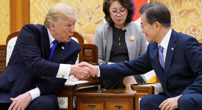 Trump to visit South Korea in late June, White House says