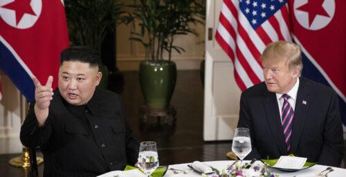 "North Korea denies Kim Jong Un sent a ""nice note"" to President Trump"