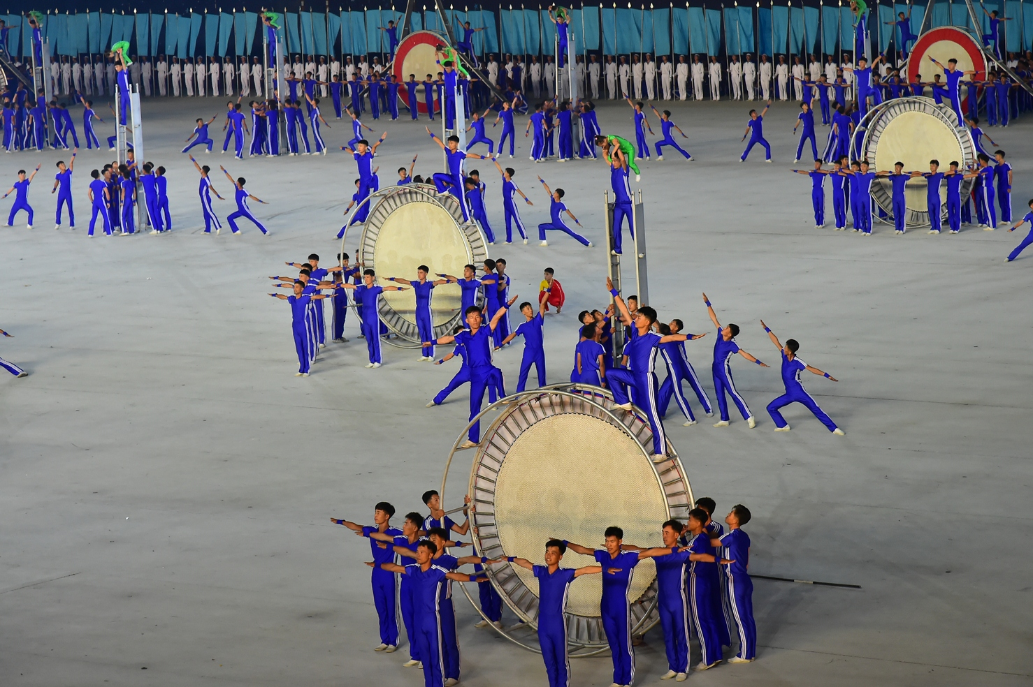 Activity at Pyongyang's May Day Stadium hints at early start for 2019 mass games