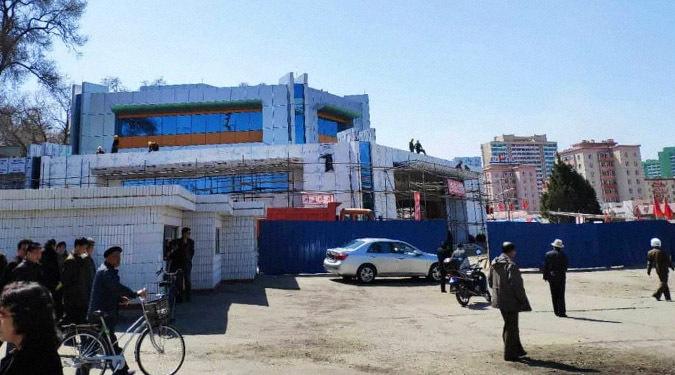 Pyongyang's Kaeson metro station under secondary renovation: photos