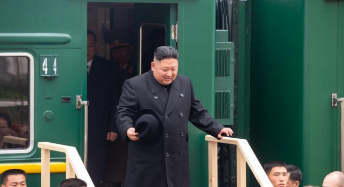 """Kim Jong Un crosses DPRK-Russia border, says visit """"only the first step"""""""