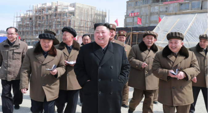 "Kim Jong Un hails ""progress"" at Samjiyon construction site in first visit of 2019"