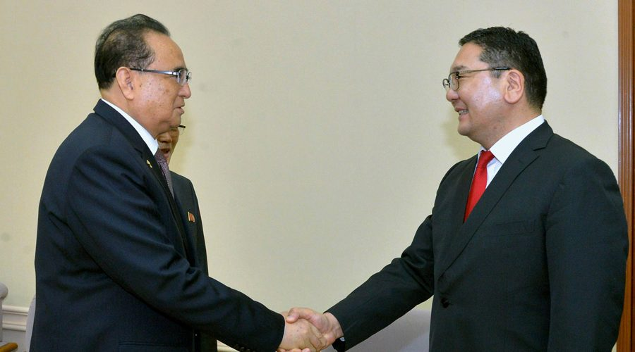 Mongolian foreign affairs delegation in Pyongyang for talks: KCNA