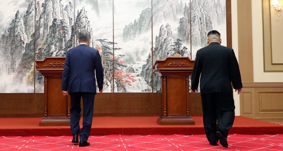 Two Koreas in talks over fourth Moon-Kim summit, Blue House says