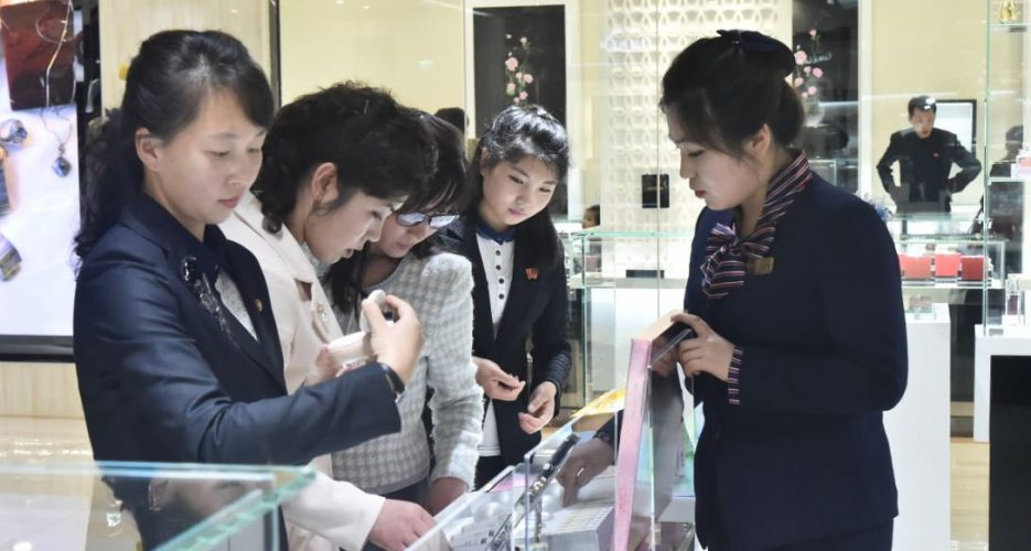 Photos reveal extent of foreign luxury goods available in new Pyongyang dept. store