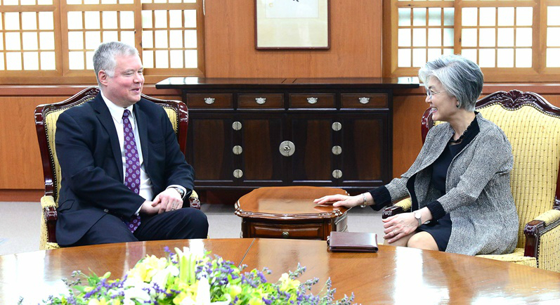 Despite Thursday's test, Biegun says door still open for talks with North Korea