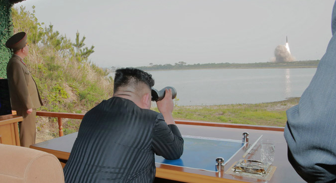 "North Korea defends Saturday's ""self-defensive"" weapons test"
