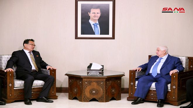 North Korea interested in assisting with Syria's reconstruction: vice FM