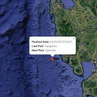 UN-blacklisted ship continues international travel, heads for the Philippines