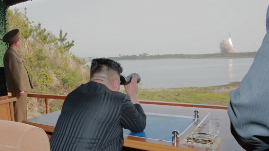 Kim Jong Un oversaw test of short-range ballistic missile on Saturday: KCNA