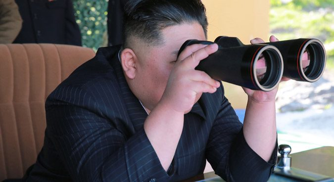 "Kim Jong Un guided ""long-range strike"" drill on Thursday: KCNA"
