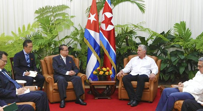 """Cuba, North Korea to expand cooperation in struggle to """"defend sovereignty"""": KCNA"""