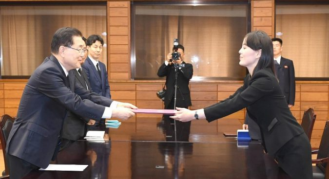 North Korea delivers letter, flowers to South following former first lady's death