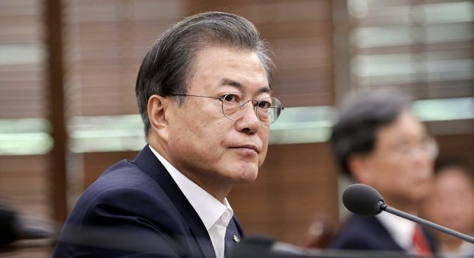 Moon Jae-in: stuck between a rock and a hard place on North Korea