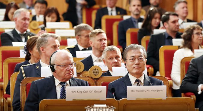 Moon in the Nordics: a Northern European example for Korean peace?