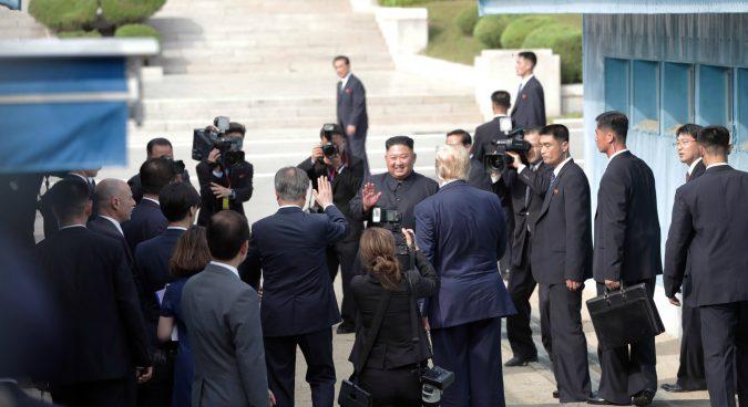 North Korea, U.S. agree to restart working-level talks at Panmunjom meeting