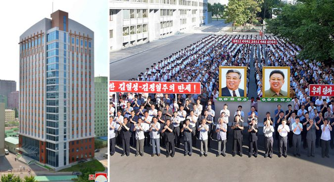 Top North Korean university opens new high-tech wing for consumer goods research