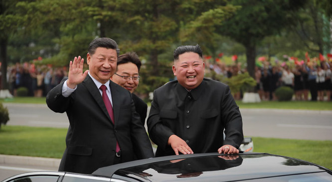 China, North Korea wrap-up fifth summit as Xi Jinping heads home