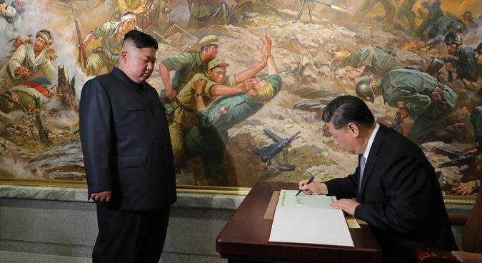 Ties that bind: Geopolitics, not socialism, underpin North Korea-China alliance