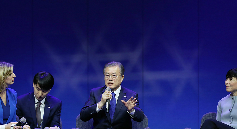 'Substantially' demonstrate commitment to denuclearization, Moon urges North Korea